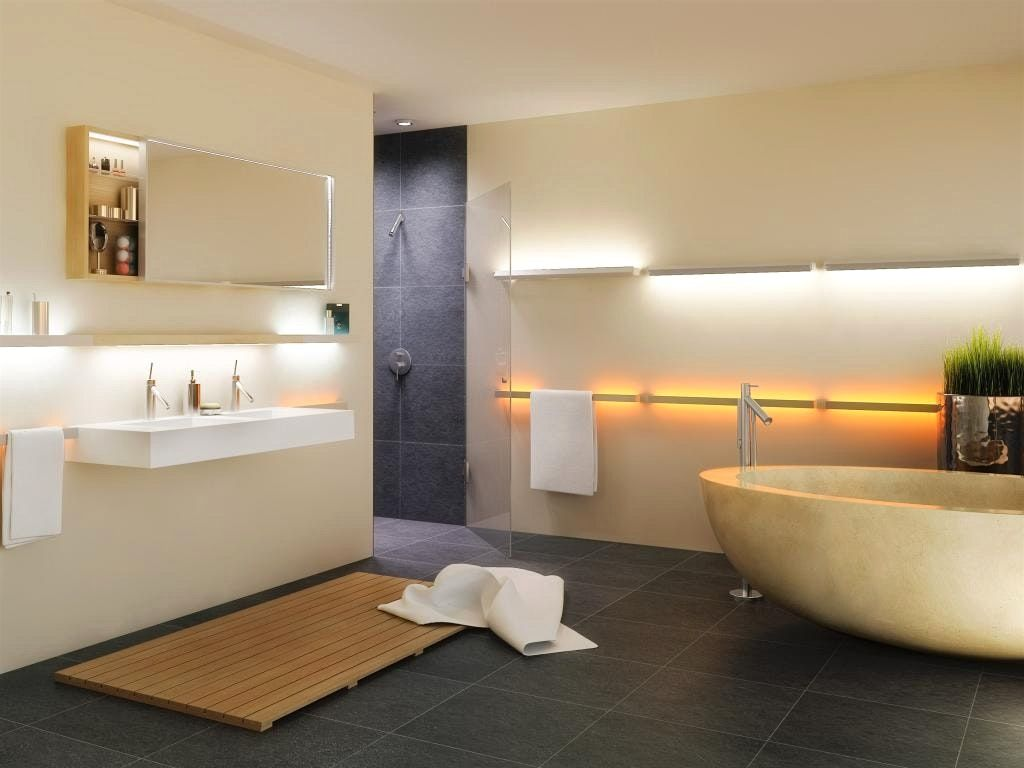 Lichtplanung   Bad Design   Pinterest   Lichtplanung, Badezimmer und ...