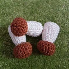 Steinpilze häkeln – kostenlose Anleitung #knittingpatternstoys