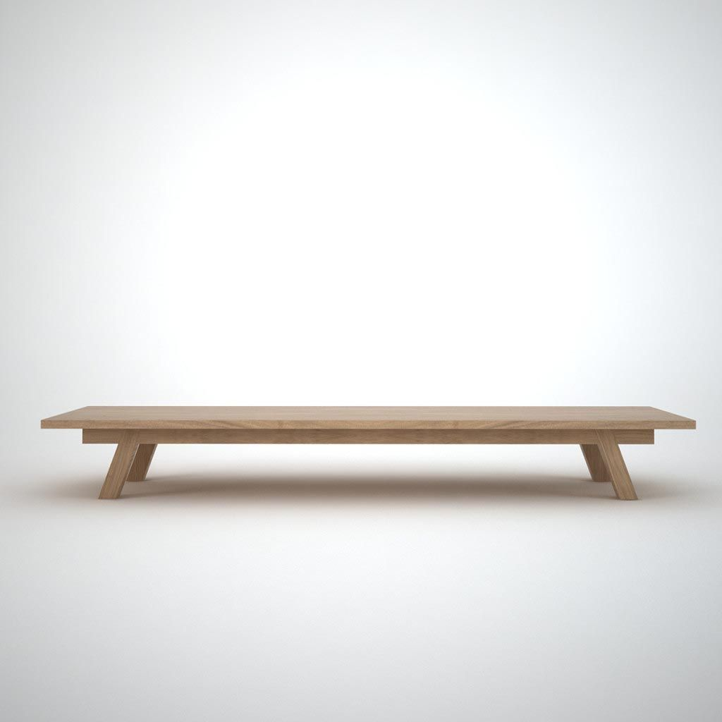 Long Low Coffee Table Low Coffee Table Narrow Coffee Table Oak