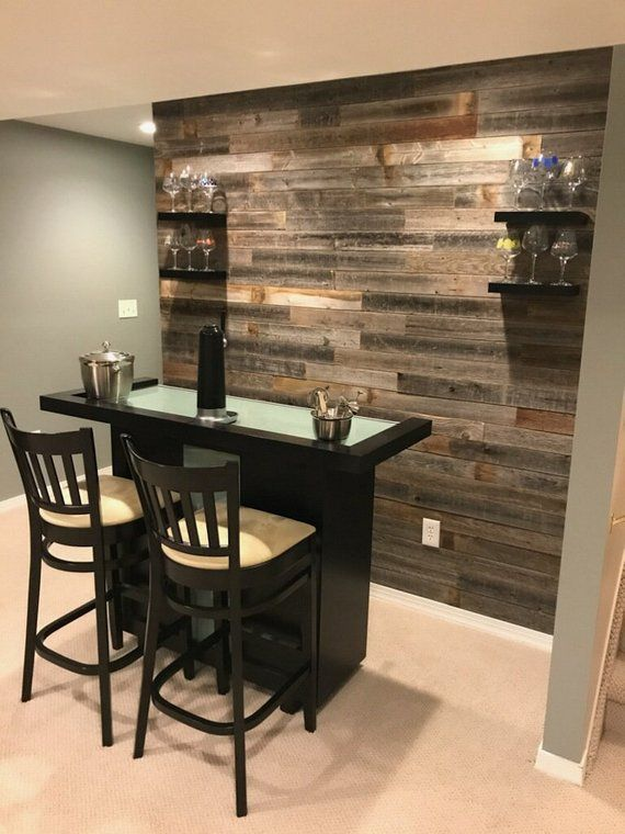 Antique Wood Paneling For Walls: Real Weathered Wood Planks Walls! Rustic Reclaimed Barn