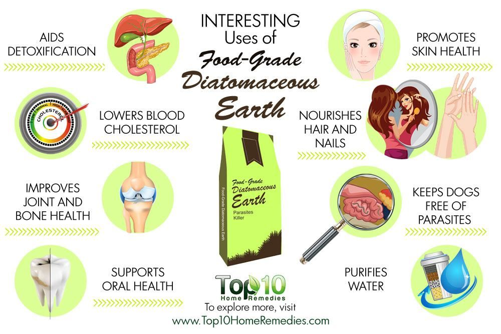 10 Interesting Uses of FoodGrade Diatomaceous Earth