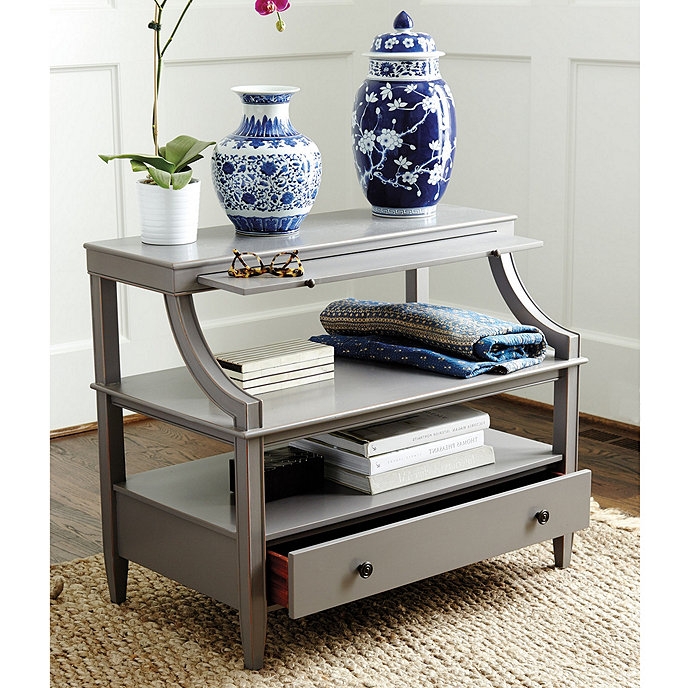 Sidney Open Side Table in 2020 (With images) | Bedroom ...
