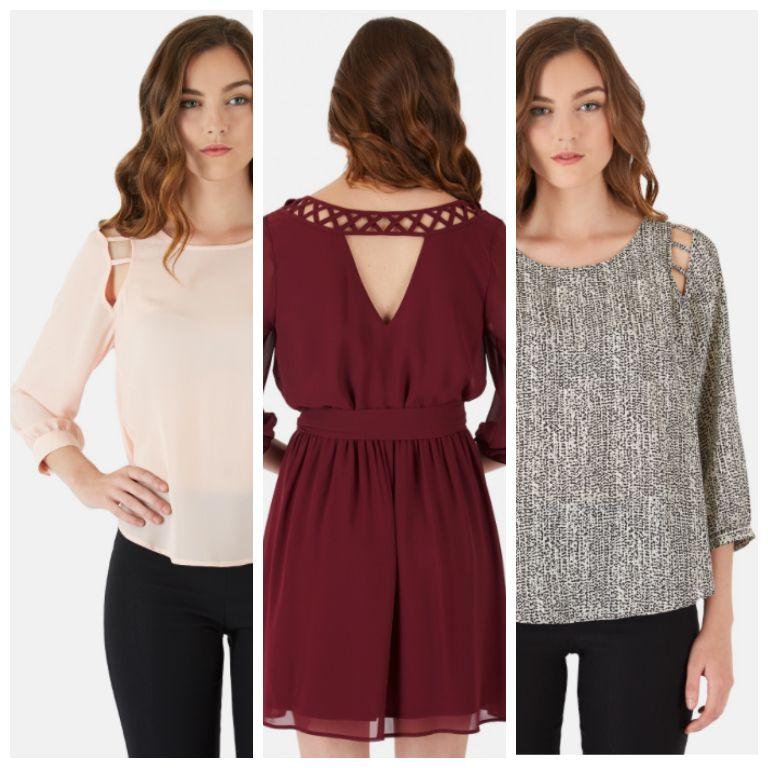 A cut above. Shop our cutout tops and lattice back dresses on ByerCA.com.