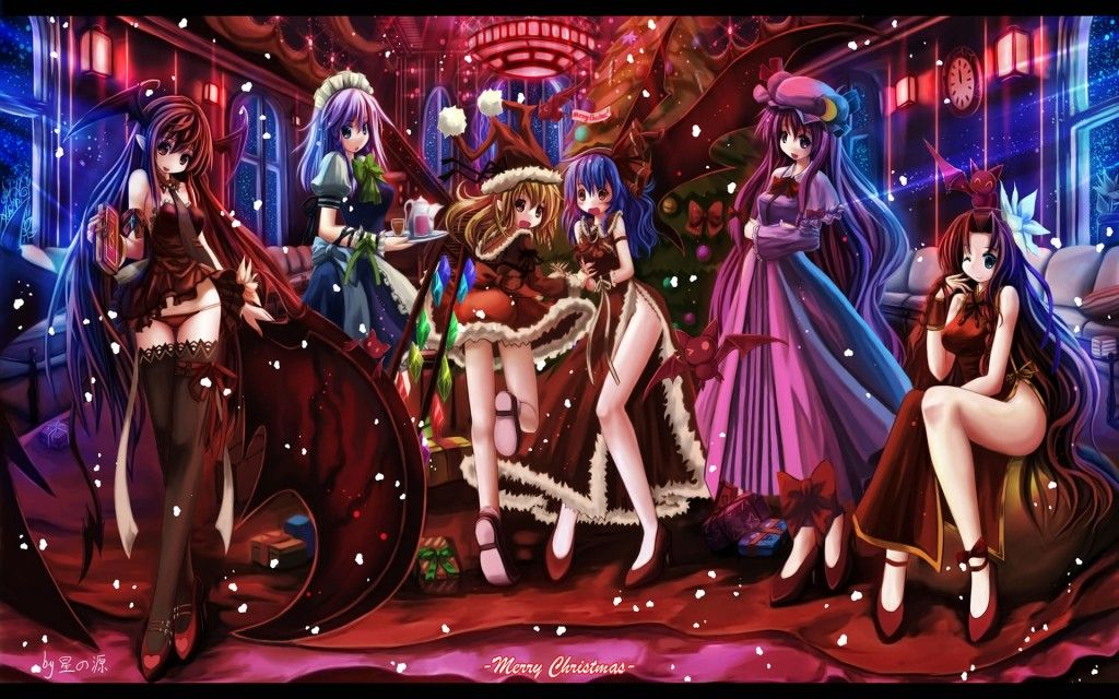 Merry Christmas Anime