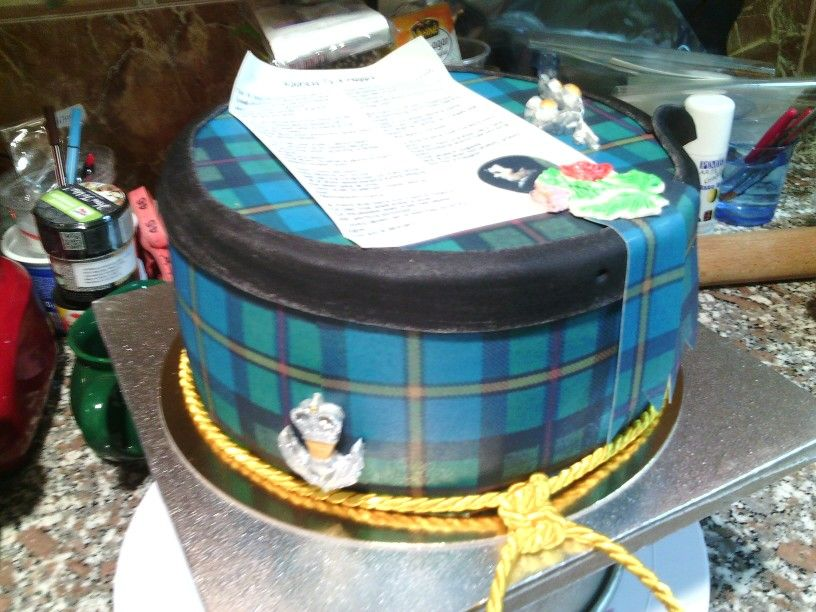 Adress to a Haggis cake