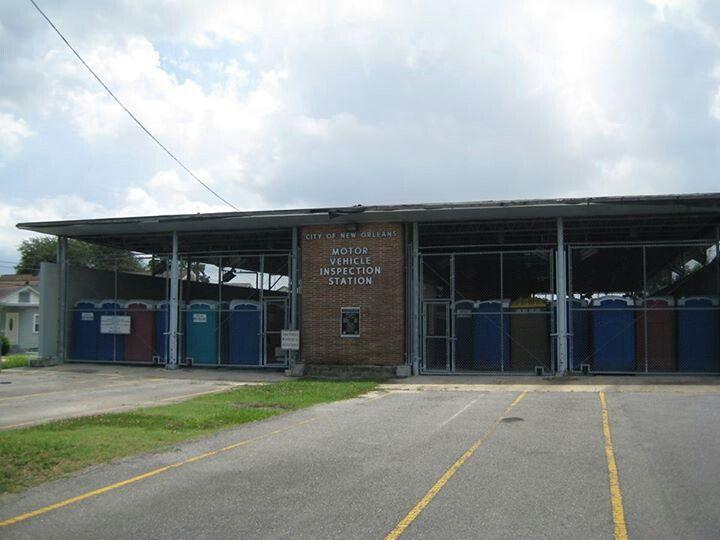 New Orleans Old Brake Tag Station On Jeff Davis Parkway