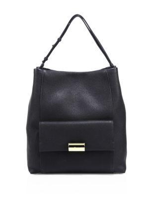 SALVATORE FERRAGAMO Bessie Leather Hobo Bag.  salvatoreferragamo  bags  shoulder  bags  hand bags  leather  hobo  lining   da3694ef31cb9