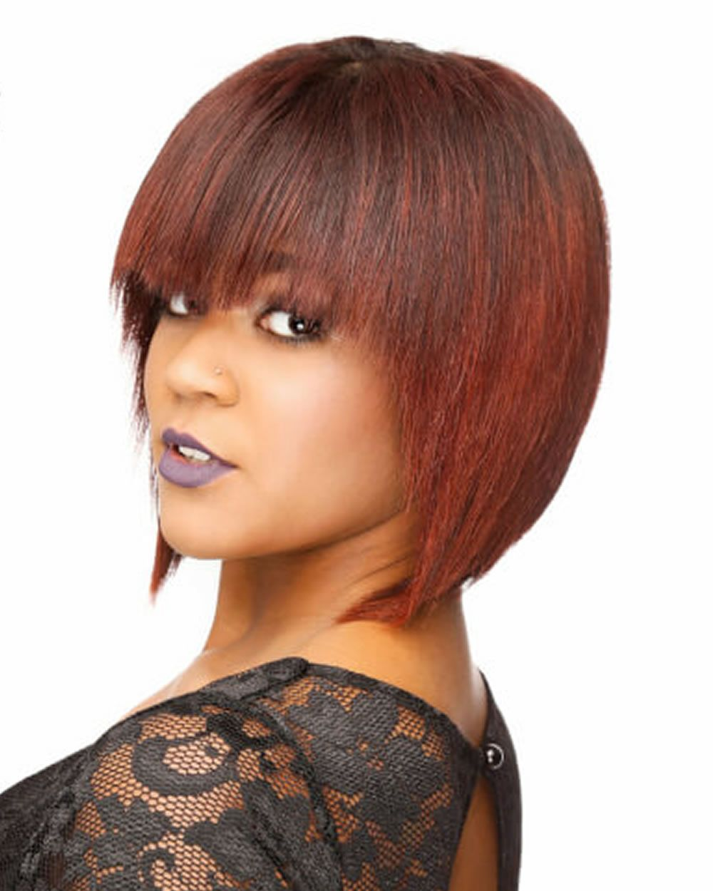 best short bob hairstyles with bangs and layered bob hairstyles