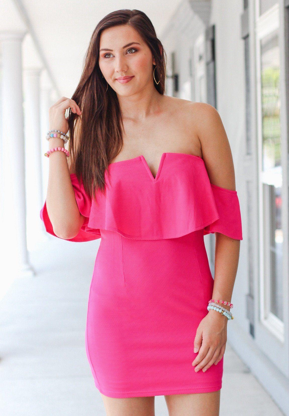 The Elle Woods Dress: Hot Pink