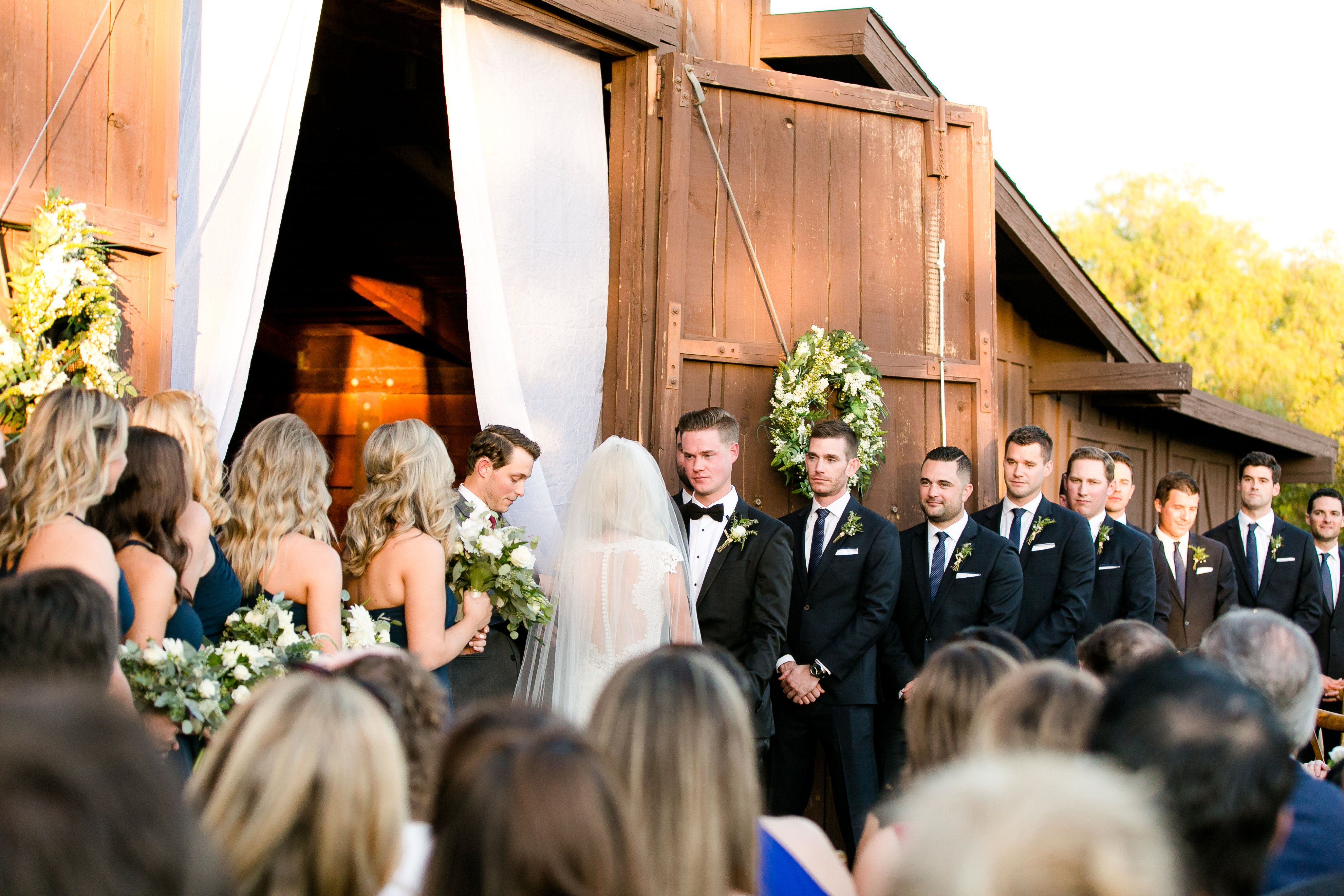 Barn ceremony site   Ethereal Open Air Resort wedding ...