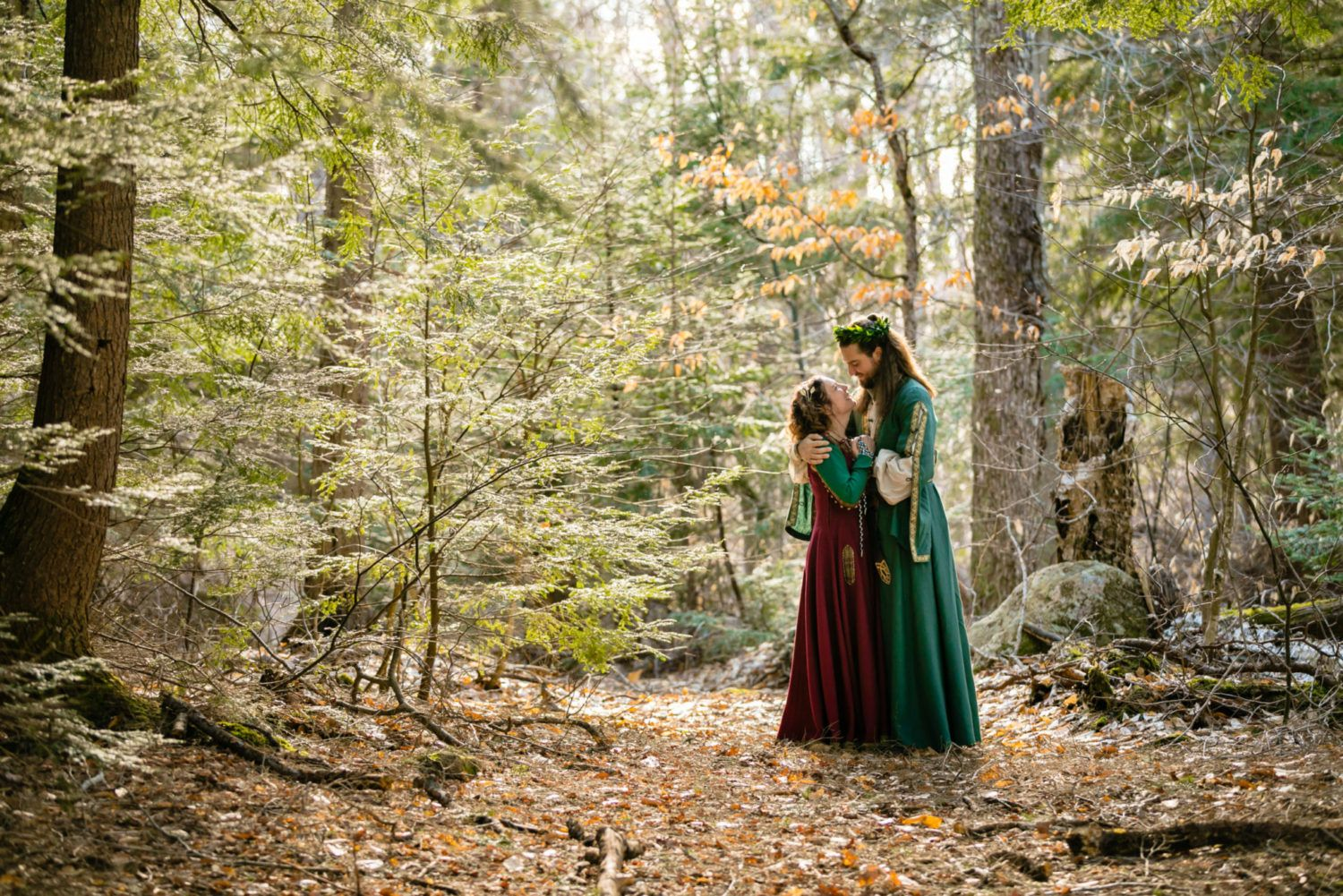 Best Places In Ontario For A Forest Wedding Jals Photography In 2020 Forest Wedding Pagan Wedding Forest Inspired Wedding