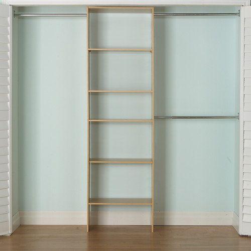 Closet Rods Walmart Akadahome 1475'' Deep Wide Closet Tower Storage & Organization