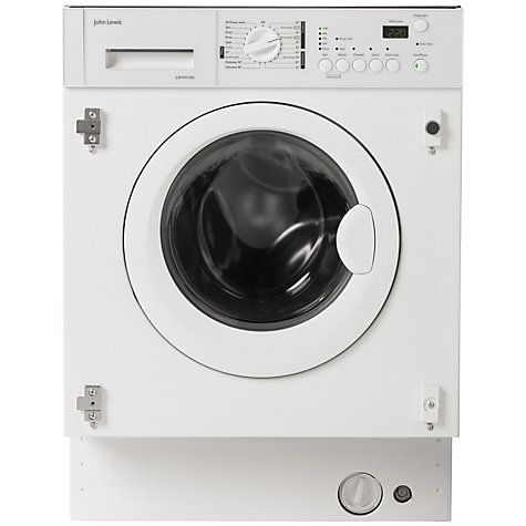 7ae26f8654a Buy John Lewis JLBIWM1402 Integrated Washing Machine