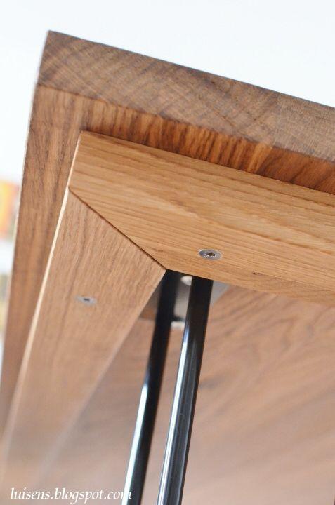 Hairpin Legs Stahl Tischbeine Metall Esstisch Bauen Diy