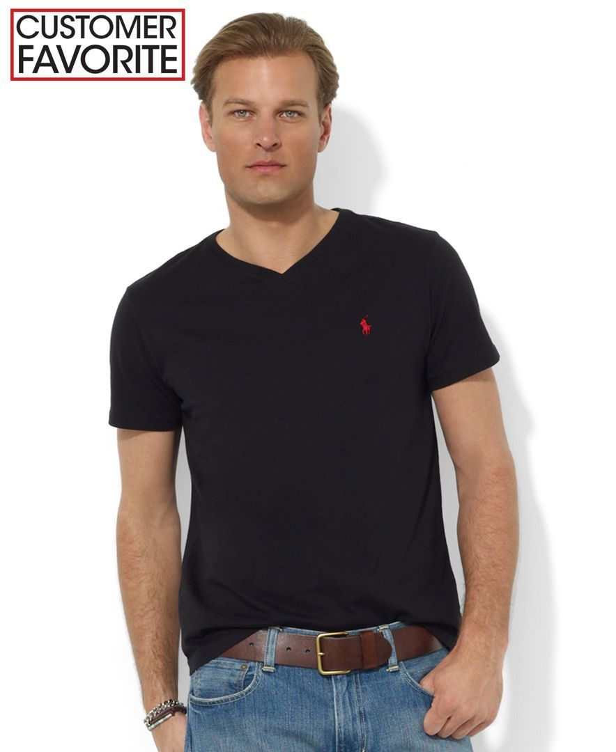 Men's Polo Ralph Lauren V Neck T Shirts   Undershirts