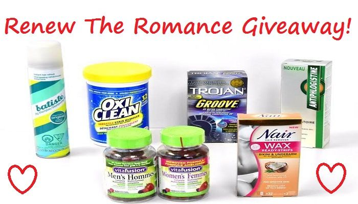 Renew The Romance With A #ChurchAndDwight Prize Pack! #Giveaway 3/13