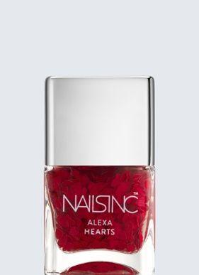 Nails inc Alexa Chung Hearts Nail polish