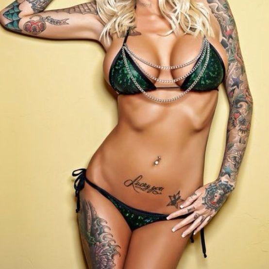 tits tattoos Big sexy