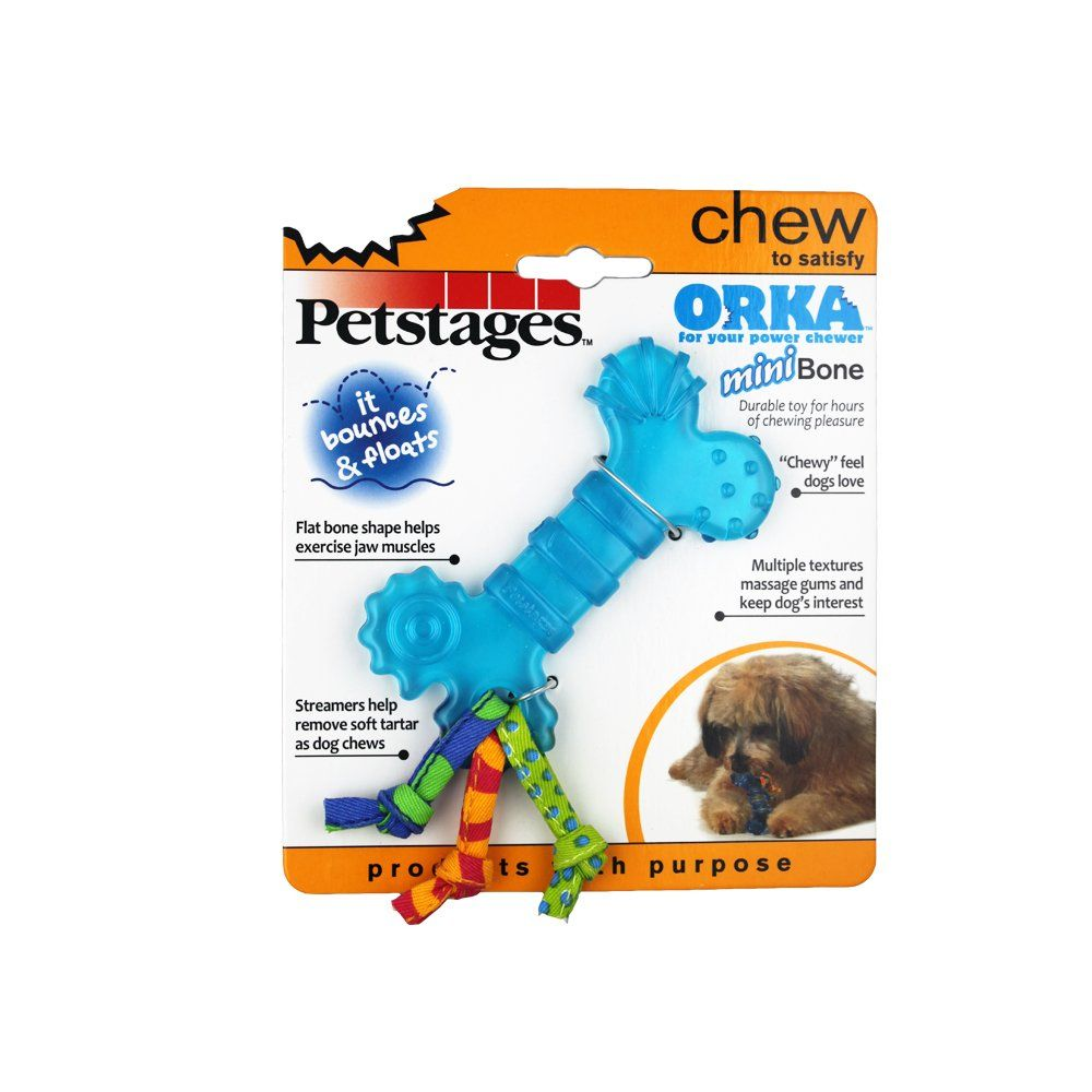Petstages Mini Orka Bone Petstages Pettoys Pets Cattoys