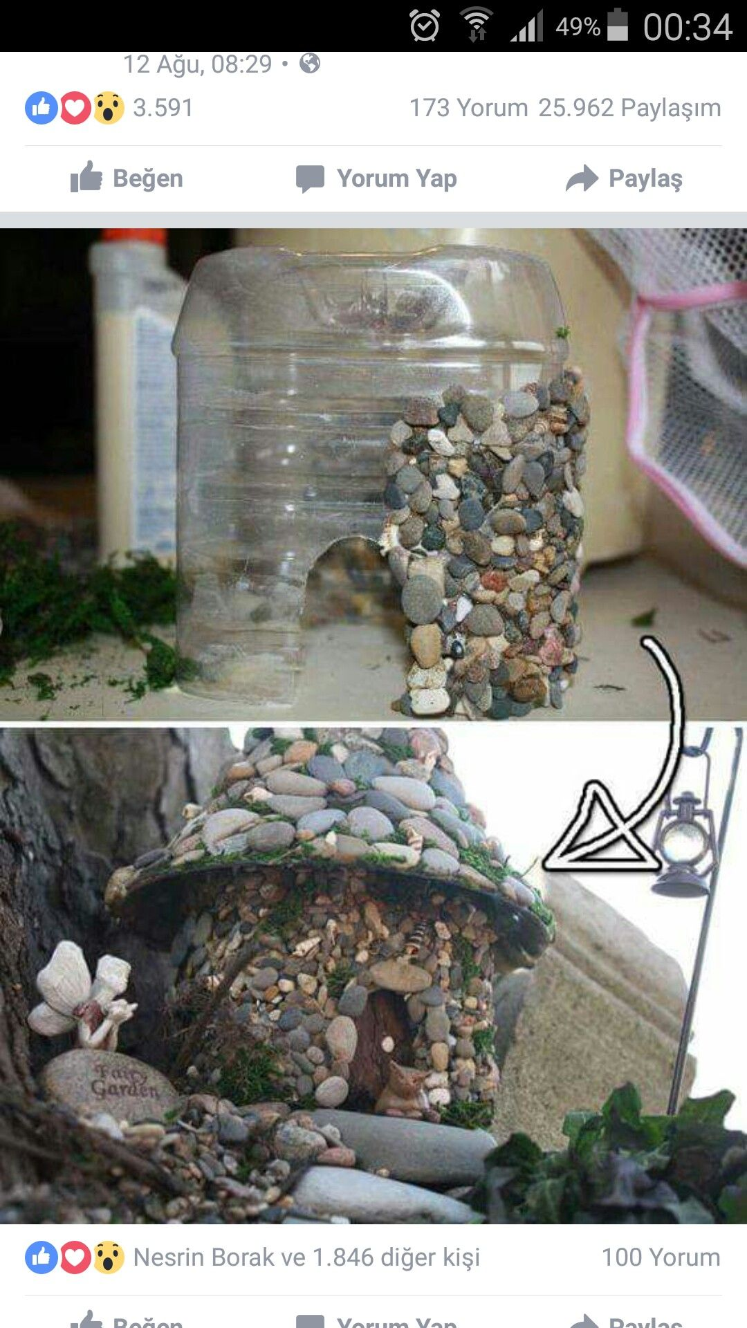 19 Cool DIY Projects To Improve The Look Of Your Home Just In One Day #plasticbottleart