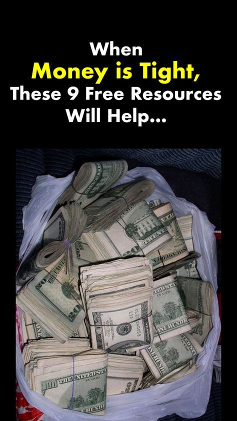 When Money is Tight, These 7 Resources Will Help N
