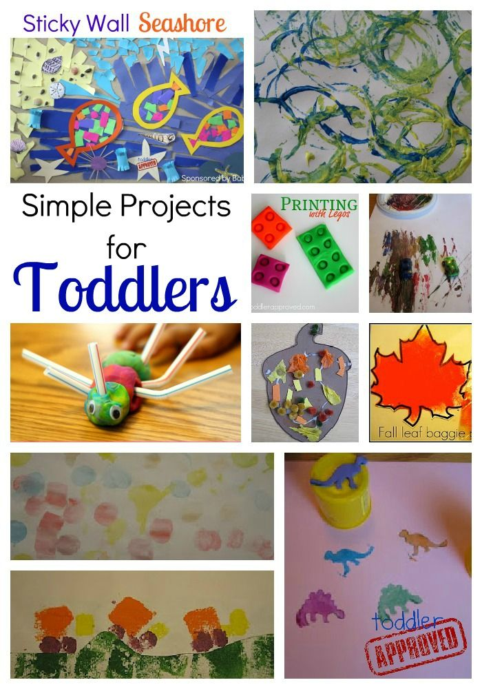 10 simple projects for toddlers plus 7 ways to enjoy crafting with toddlers