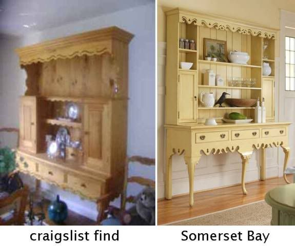 Refinishing Oak Kitchen Cabinets Ideas: Furniture, Painted Furniture