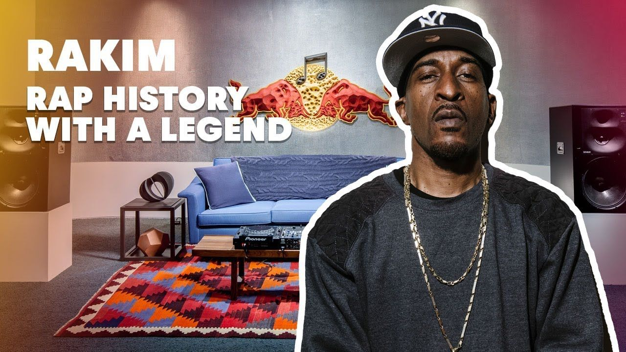 Rakim Rap History With A Legend Red Bull Music Academy Youtube In 2021 Rap History Rap Bull Tv