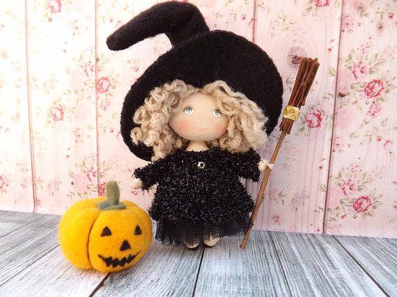 Poupée miniature de collection petite sorcière poupée pour la