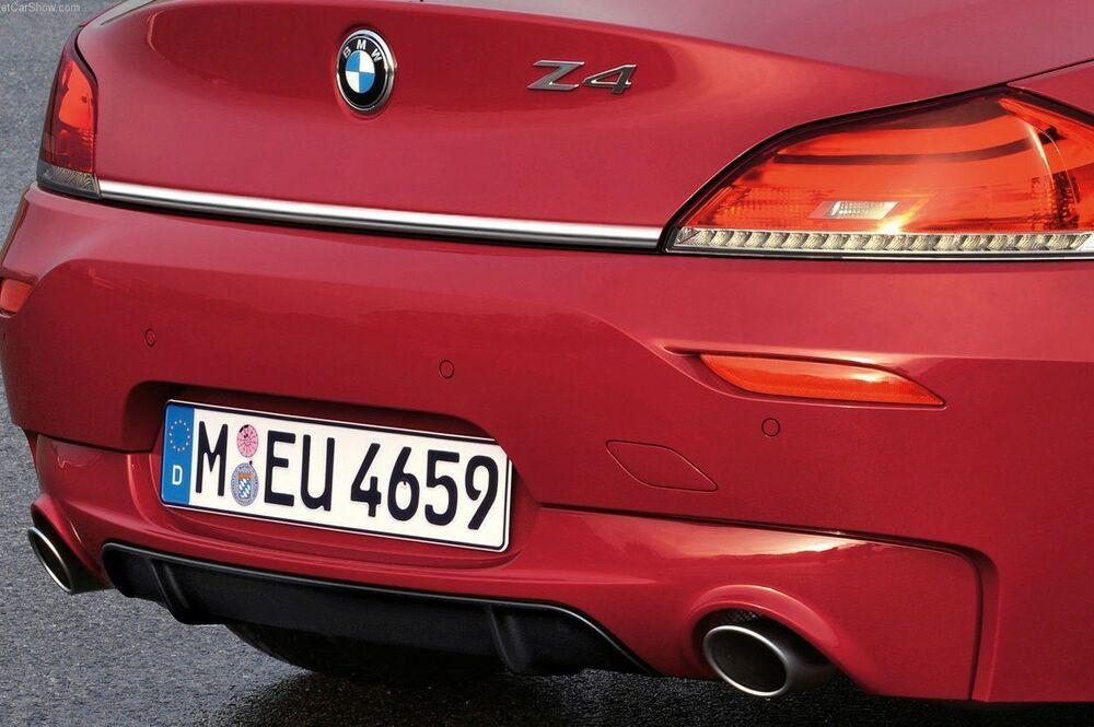 Bmw Z4 E89 Cabriolet Chrom Zierleiste Heckleiste Heckklappe Tuning Chromleiste Bmw Z4 Bmw Auto