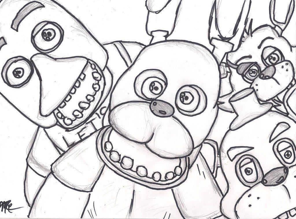 Five Nights At Freddys Paint Google Paieška Fnaf