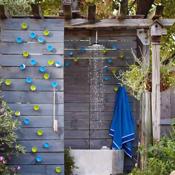 Wall Pod // Outdoor Shower