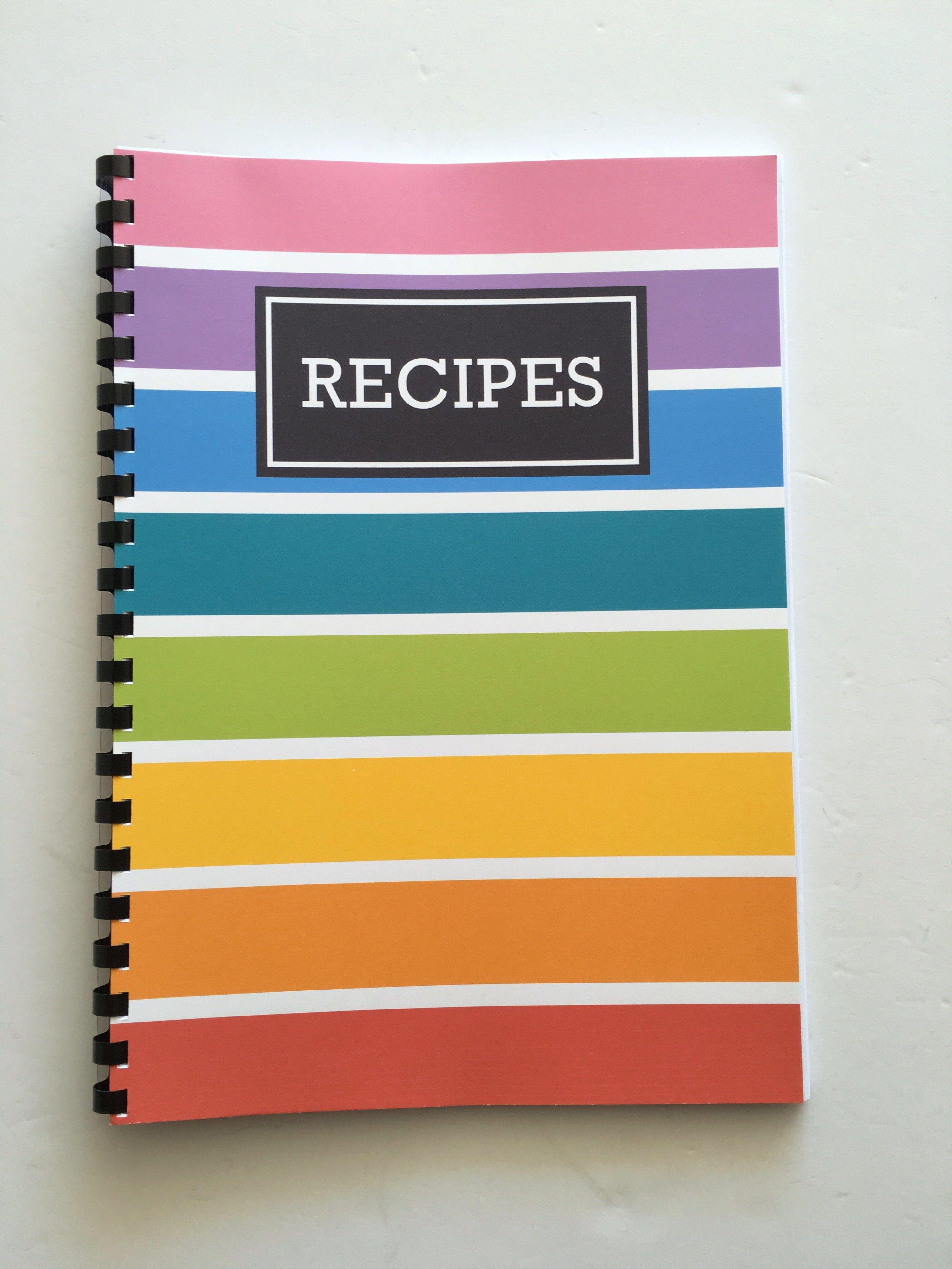 How to make a diy recipe book plus free printables
