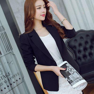 2baa5df60e31 Fashion women blazers long sleeve slim jackets ladies Cape blazer ...