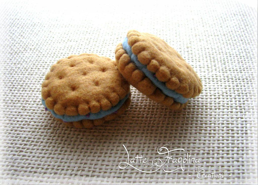 Biscotti Bambini ~ Feltro pannolenci biscotto ripieno giocattolo per bambini by