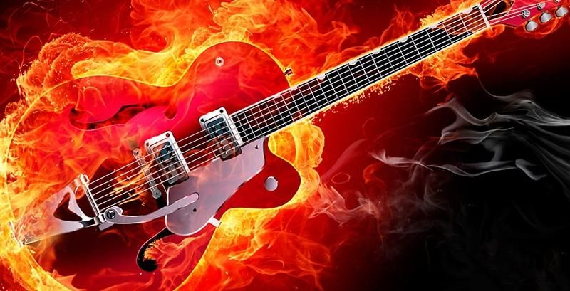 Buy Electric Guitar Fire Diamond Painting Kit Up To 30 Off Pretty Neat Creative Electric Guitar Guitar Rockabilly Guitar