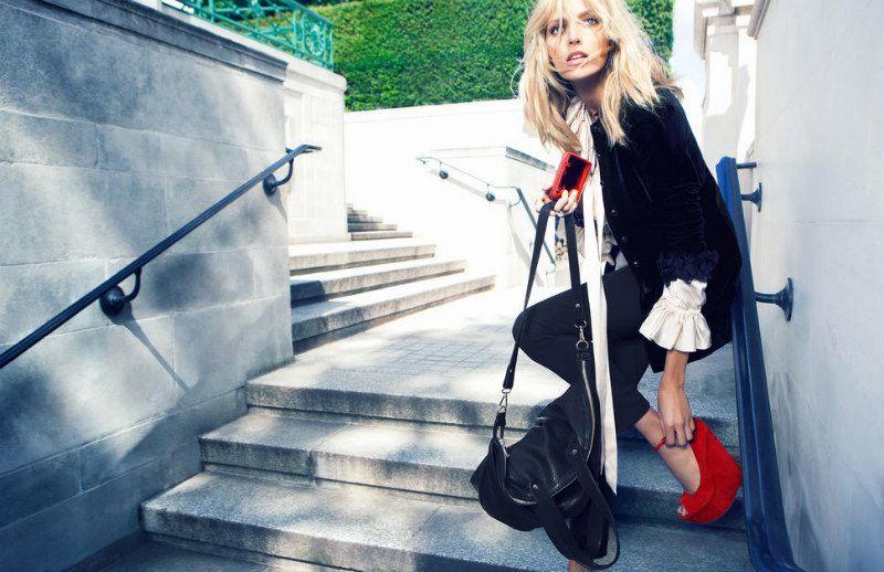 Anja Rubik for Kurt Geiger Fall 2011 Campaign #fashion