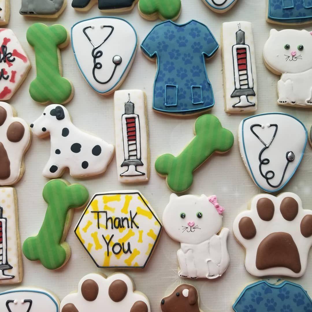 """Kassy's Cookies on Instagram """"Happy Vet Tech Appreciation"""