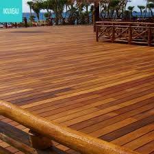 Garapa Terrasse Timber Deck Deck Landscaping Outdoor