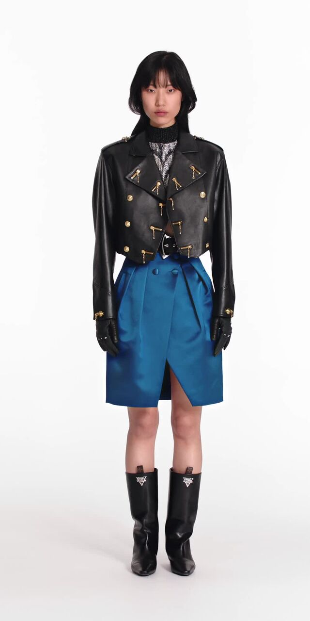 Buttoned Wrap Skirt Ready to Wear LOUIS VUITTON Wrap