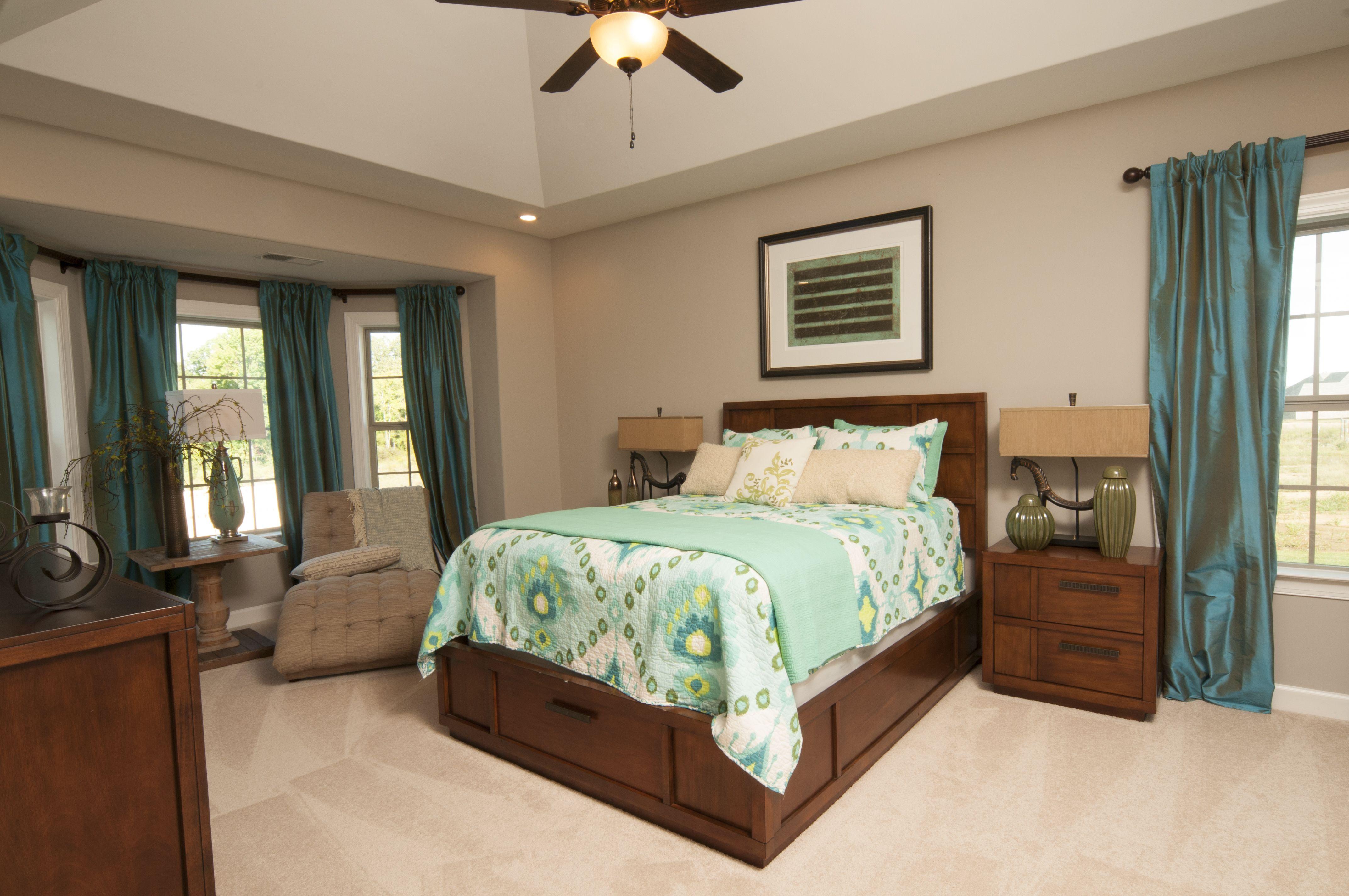 Regency Homebuilders Large Master Bedroom, Neutral, Pops