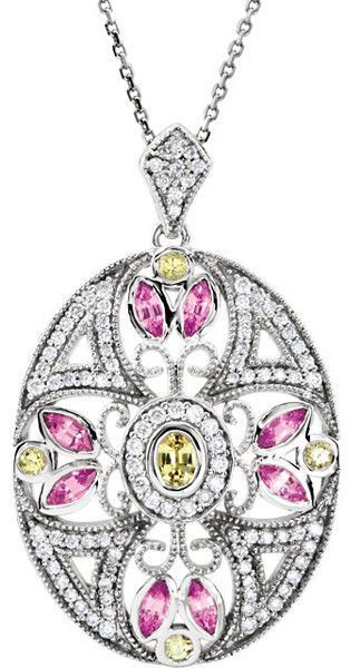Very Special Genuine Gemstone Sapphire Pendant for SALE at BitCoin Gems