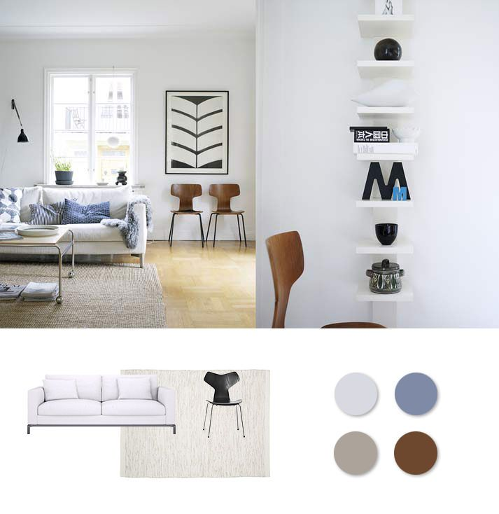 Skandinavisches Wohnzimmer -    wwwmy-homemate 5 - skandinavisch wohnen wohnzimmer