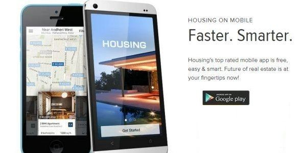 Housing Com Property Search Android App Makes Indian Life Simple Android Apps Property Search App