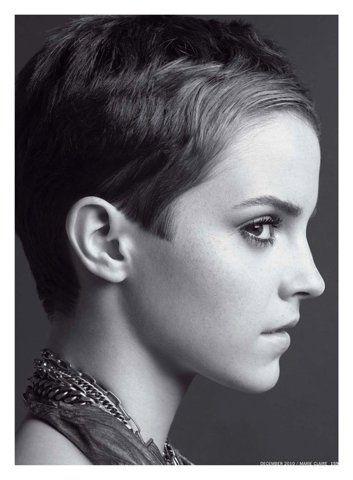 Emma Watson...pixie cut perfection <3