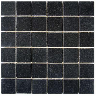X GRANITE ABSOLUTE BLACK P Mosaics Pinterest - 2x2 granite tile