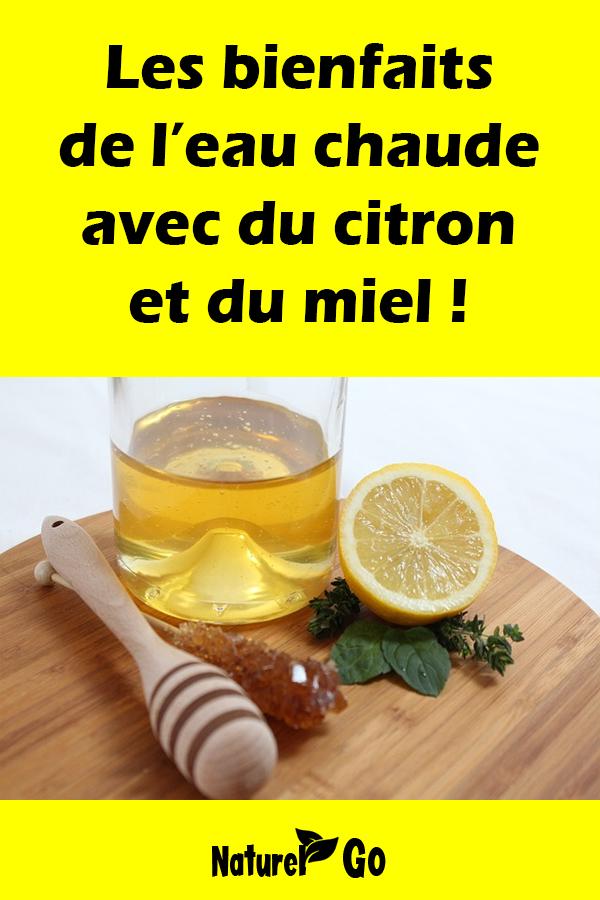 Les bienfaits de l'eau chaude avec du citron et du miel