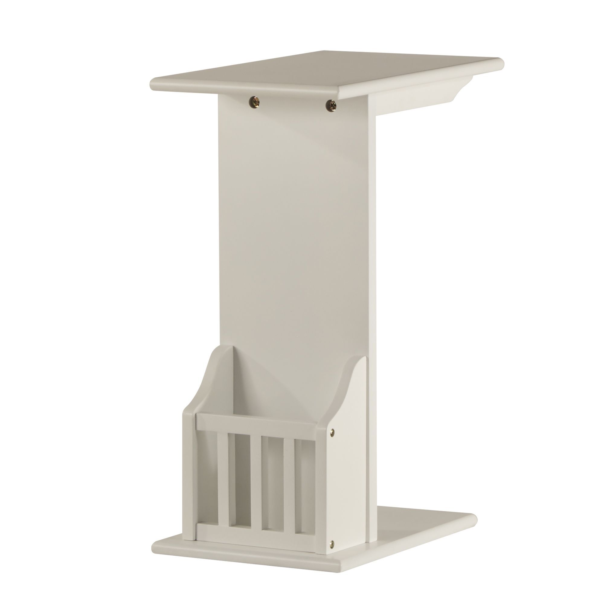 Woodbridge Accent Magazine Rack Chairside Table by Inspire Q (