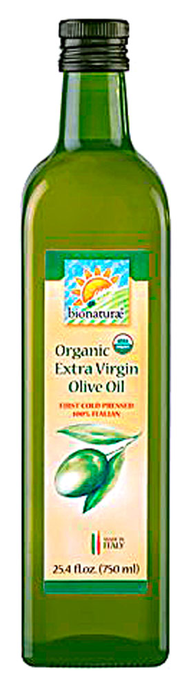 Bionaturae Organic Extra Virgin Olive Oil - true to authentic Italian olive oils, with a complex balance of fruity and mellow flavors and a subtle artichoke bite. It is delicate and suitable for cooking as well as eating raw on salad, vegetables, meat and fish. http://www.vitacost.com/bionaturae-organic-extra-virgin-olive-oil-25-4-fl-oz-2