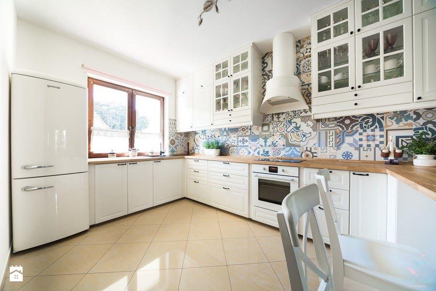 Biale Meble Kuchenne Aranzacje Uniwersalnosc Kitchen Ideals New Kitchen Small Kitchen